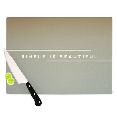 Simple Beautiful Cutting Board