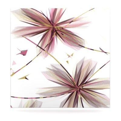 KESS InHouse Flower by Alison Coxon Graphic Art Plaque