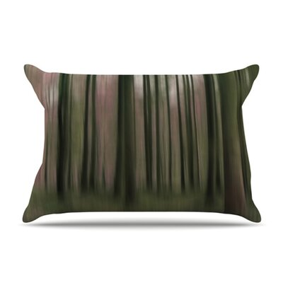 Forest Blur Microfiber Fleece Pillow Case