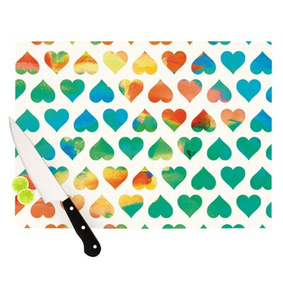 KESS InHouse Be Mine Cutting Board