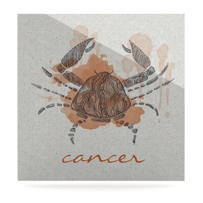 KESS InHouse Cancer Floating Art Panel