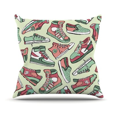 KESS InHouse Sneaker Lover II Throw Pillow