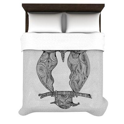 KESS InHouse Owl Duvet