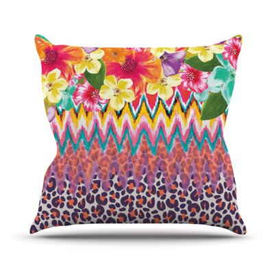KESS InHouse Grow Throw Pillow