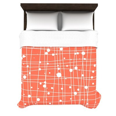 KESS InHouse Woven Web I Duvet Collection