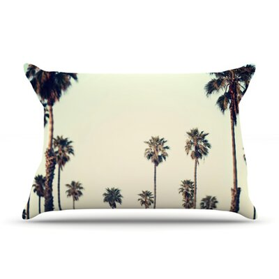 KESS InHouse California Microfiber Fleece Pillow Case