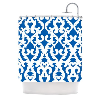 KESS InHouse Modern Baroque Polyester Shower Curtain