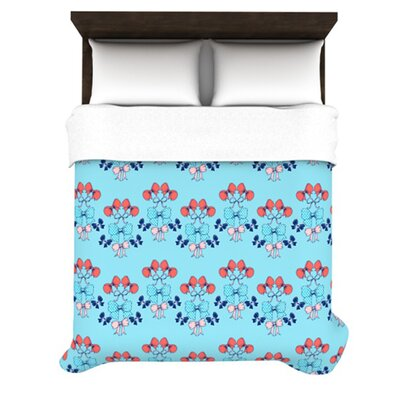 KESS InHouse Bows Duvet Collection