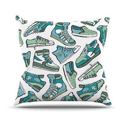 KESS InHouse Sneaker Lover III Throw Pillow