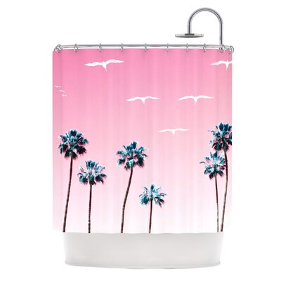 KESS InHouse Cali Polyester Shower Curtain