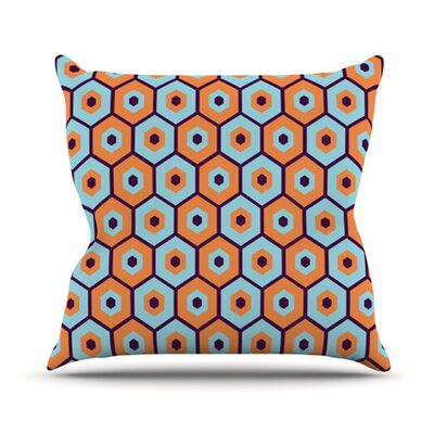 KESS InHouse Busy Throw Pillow