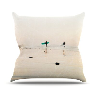 KESS InHouse Surfers Throw Pillow