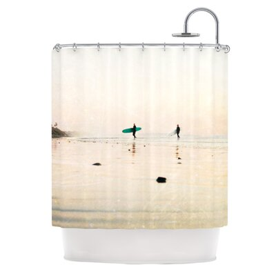 KESS InHouse Surfers Polyester Shower Curtain
