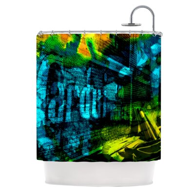 KESS InHouse Radford Polyester Shower Curtain
