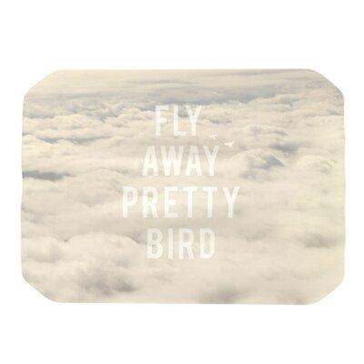 KESS InHouse Fly Away Pretty Bird Placemat