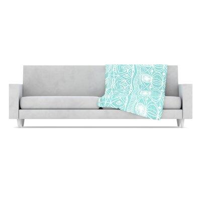KESS InHouse Beach Blanket Bingo Microfiber Fleece Throw Blanket