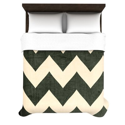 KESS InHouse Vintage Vinyl Duvet Collection