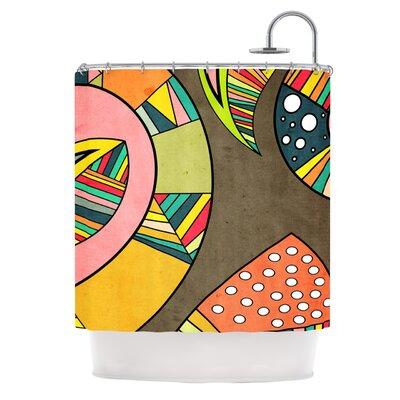 KESS InHouse Cosmic Aztec Polyester Shower Curtain