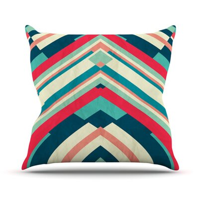 KESS InHouse Good Night Nobody Throw Pillow