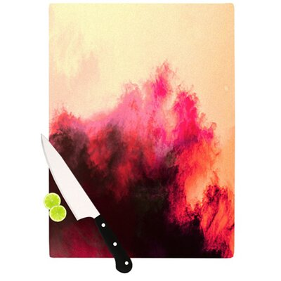 KESS InHouse Painted Clouds II Cutting Board