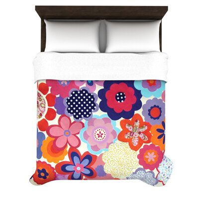KESS InHouse Patchwork Flowers Duvet Cover Collection