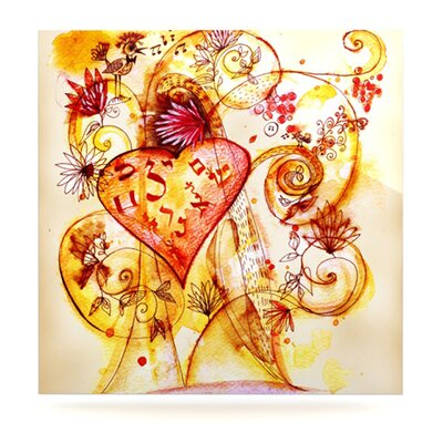 KESS InHouse Tree of Love by Marianna Tankelevich Painting Print Plaque