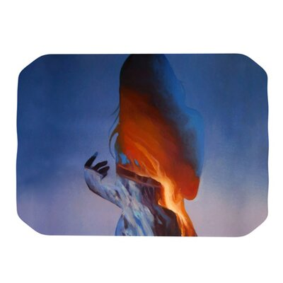 KESS InHouse Volcano Girl Placemat