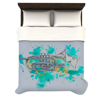 KESS InHouse Hunting for Jazz Duvet Cover Collection