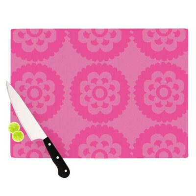 KESS InHouse Moroccan Cutting Board