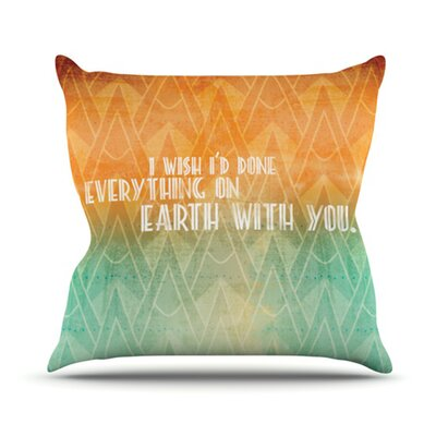 KESS InHouse Deco II Throw Pillow