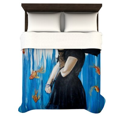 KESS InHouse Sink or Swim Duvet Cover Collection