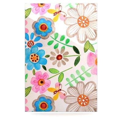 KESS InHouse The Garden by Louise Machado Graphic Art Plaque