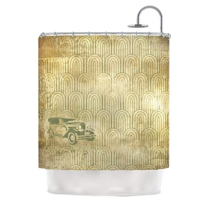KESS InHouse Deco Car Polyester Shower Curtain