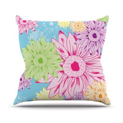 KESS InHouse Summer Time Throw Pillow