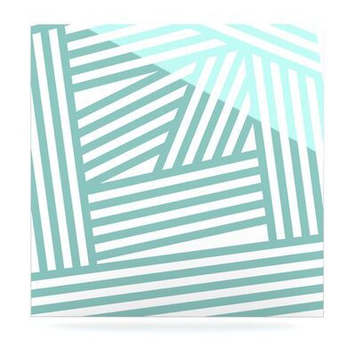 KESS InHouse Stripes by Louise Machado Graphic Art Plaque