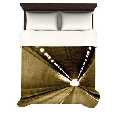 KESS InHouse Tunnel Duvet Cover