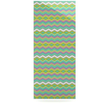 KESS InHouse Chevron Love Floating Art Panel