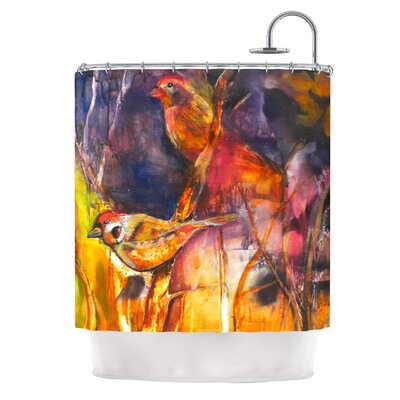 KESS InHouse In Depth Polyester Shower Curtain