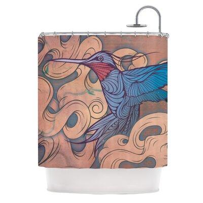KESS InHouse Aerialism Polyester Shower Curtain