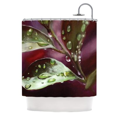 KESS InHouse April Showers Polyester Shower Curtain