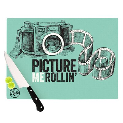 KESS InHouse Picture Me Rollin Cutting Board