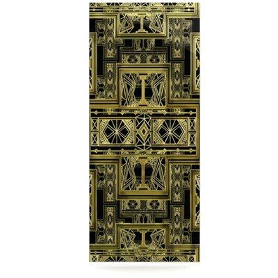 KESS InHouse Golden Art Deco by Nika Martinez Graphic Art Plaque
