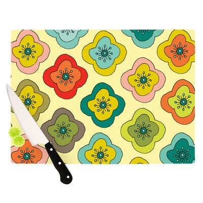 KESS InHouse Forest Bloom Cutting Board