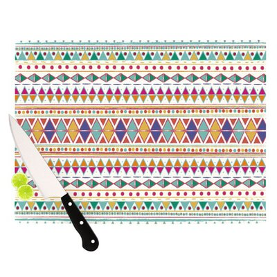 KESS InHouse Native Fiesta Cutting Board