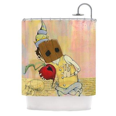 KESS InHouse Thalamus Polyester Shower Curtain