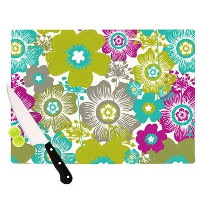 KESS InHouse Little Bloom Cutting Board