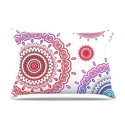 KESS InHouse Rainbow Infinity Fleece Pillow Case