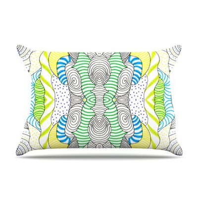 KESS InHouse Wormland Fleece Pillow Case