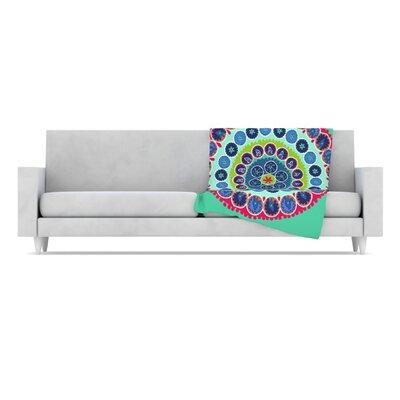 KESS InHouse Surkhandarya Fleece Throw Blanket