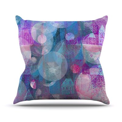 KESS InHouse Dream Houses Throw Pillow